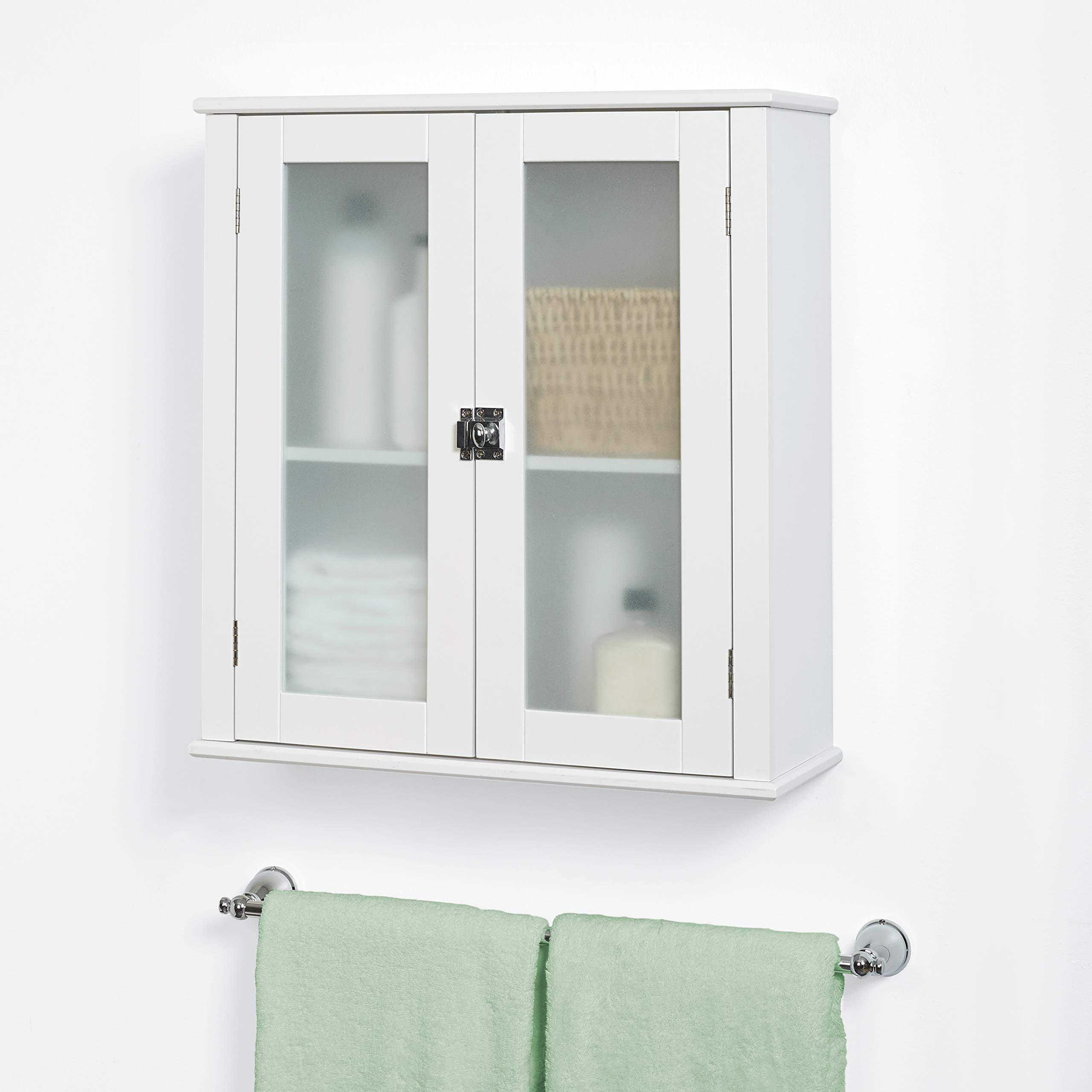 Zenna Home Classic wall cabinet, White by Zenna Home