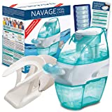 Navage Nasal Hygiene Essentials Bundle: Navage Nose Cleaner, 40 SaltPod Capsules, and Countertop Caddy. 126.90 if…