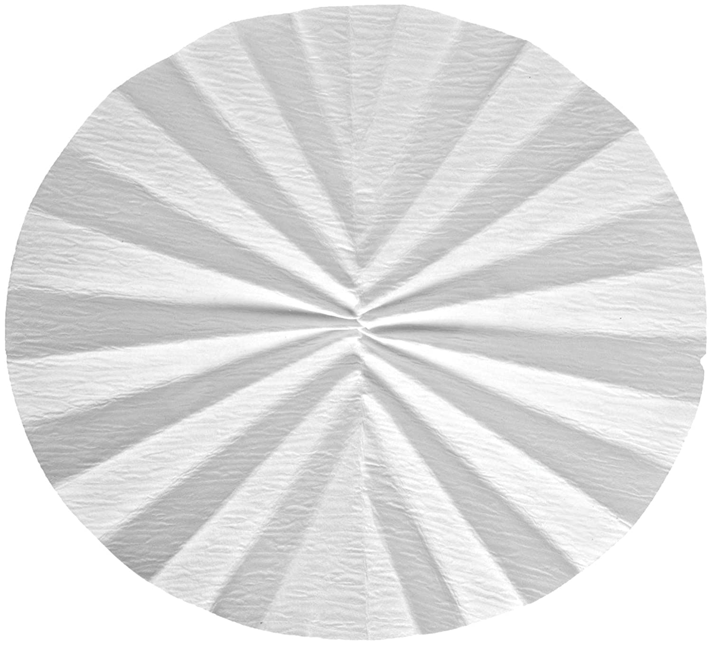 Whatman 10311841 Quantitative Folded Filter Paper Grade 597-1//2 Pack of 100 4-7 Micron 70mm Diameter