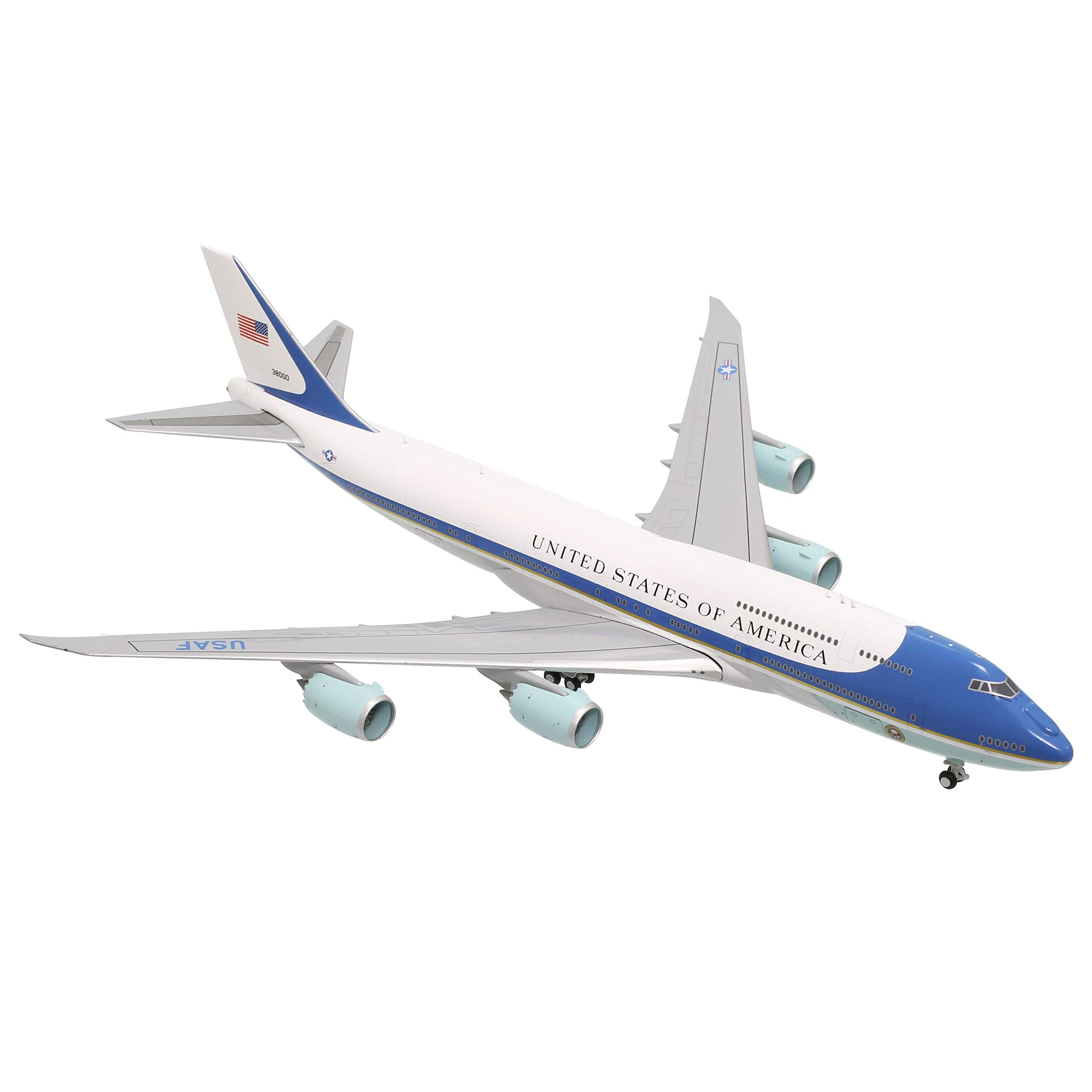 GeminiJets United States Air Force B747-8i Air Force One 38000 1:400 Scale Diecast Model Airplane