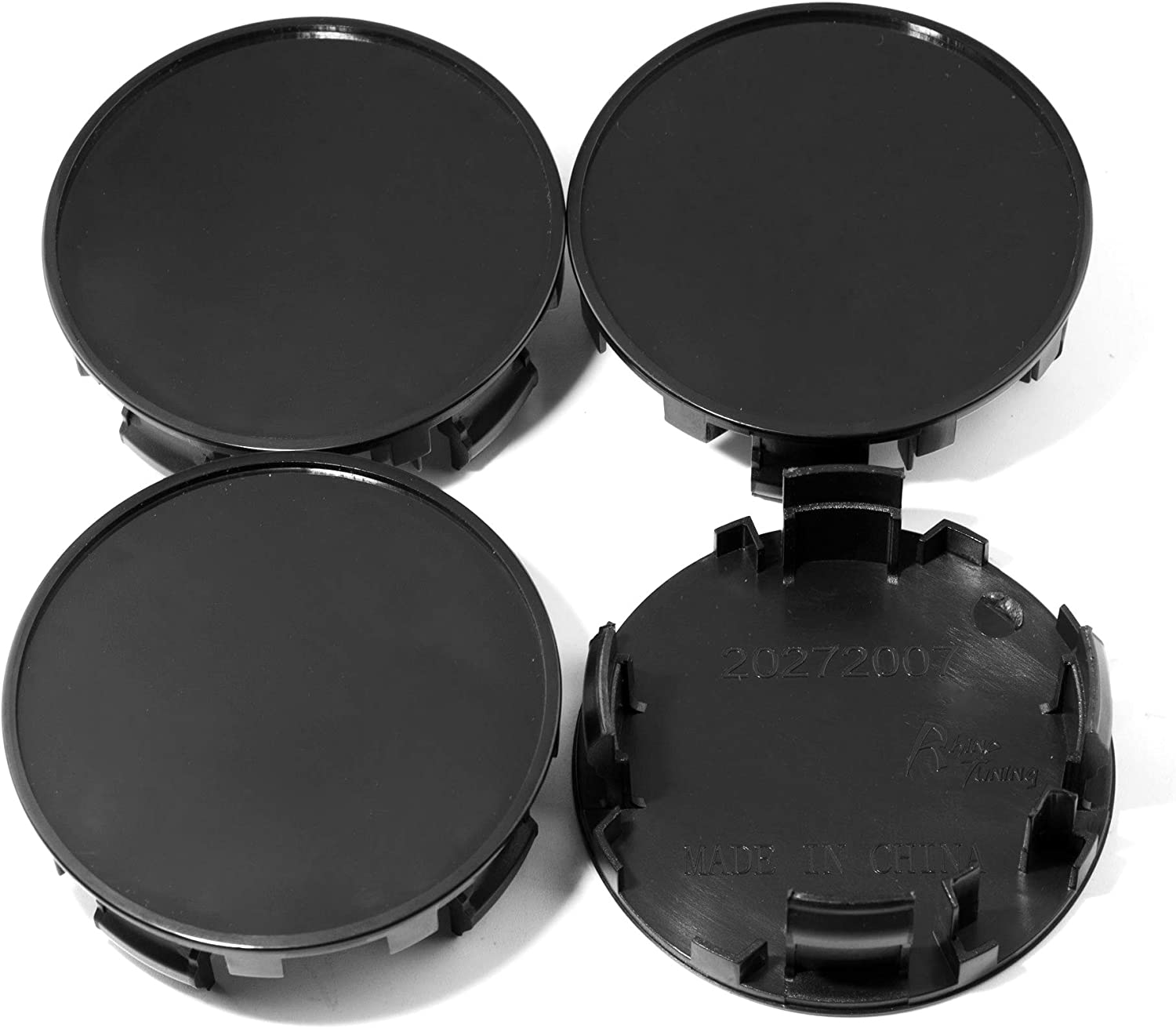 2.5in // 55.7mm Wheel Hub Center Caps Black a Set of 4pcs for #42603-24250 42603-48060#GS 300 1998-2005 RX 300 1999-2003 RTRHINOTUNING 63.5mm 2.19 in