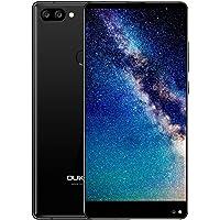 "Oukitel Mix 2 - 4G Smartphone Libre (Android 7.0, 5.99"" 18:9 FHD+ LTPS Pantalla, Resolución 1080*2160, MTK6757 Octa Core, 6Gb Ram 64GB ROM, Dual Sim, 3 Cámaras 13MP+ 0.3MP+8MP) (Negro)"