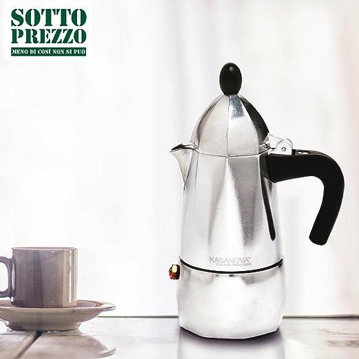 Cafetera kasanova de 6 tazas: Amazon.es: Hogar
