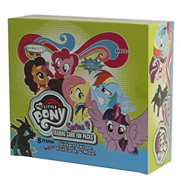 8 Cards Series 4 Trading Card Fun -PACK My Little Pony Friendship is Magic