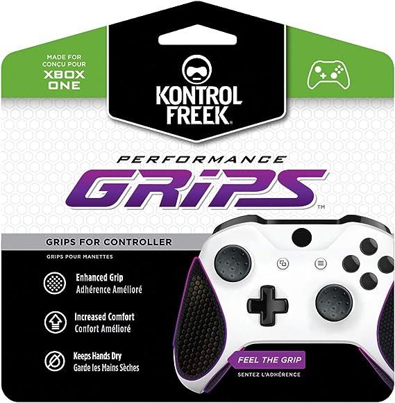 KontrolFreek Performance Grips para Xbox One   Negros: Amazon.es ...
