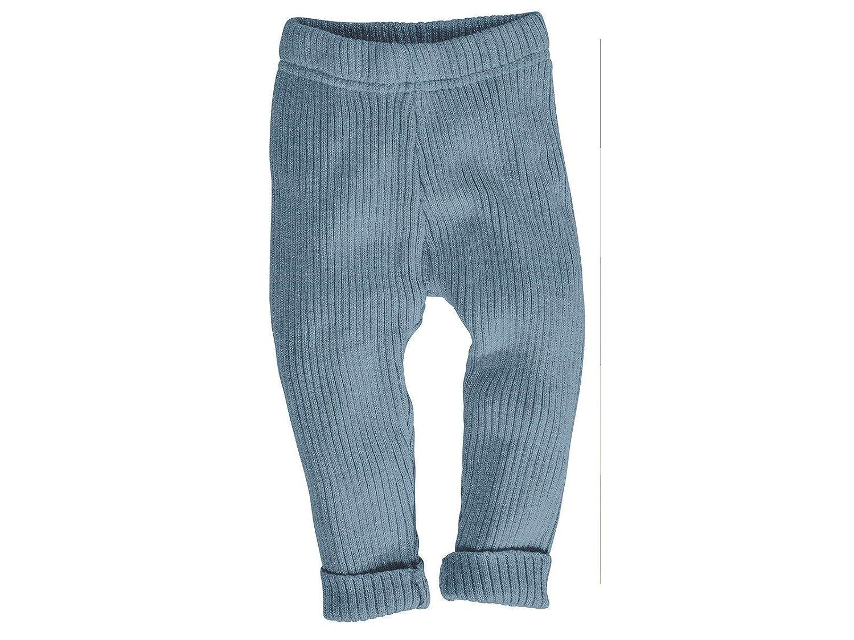 GOTS zertifiziert Bio Baby und Kinder Leggings Strick 100/% Bio-Baumwolle KbA 62//68 Blau