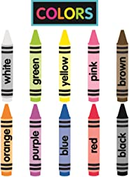 Just Teach Printable Crayon Colors Cutouts - NEON