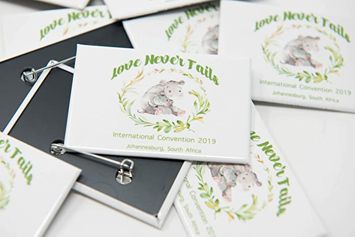 JOHANNESBURG South Africa - 100 Lapel Pins Buttons for the International  Convention of Jehovah's Witnesses 2019, JW gifts, JW shop, Convention