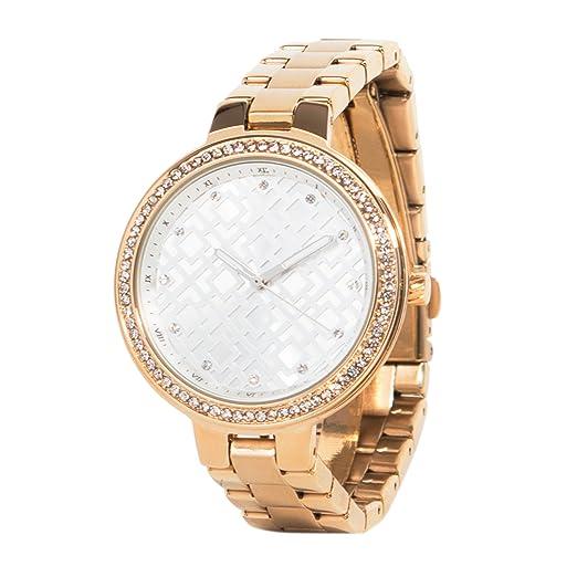 Parfois - Reloj Round | Online Exclusive - Mujeres - Tallas Única - Dorado: Amazon.es: Relojes