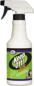 Four Paws Keep Off! Cat Repellent Spray Outdoors & Indoor 16 Ounces