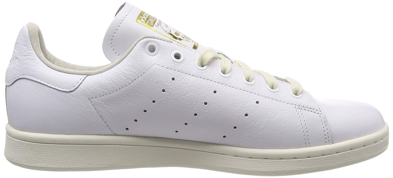adidas Stan Smith, Chaussures de Fitness Homme Blanc (Ftwr White/Off White/Collegiate Green Ftwr White/Off White/Collegiate Green)