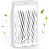 Afloia 700ml Home Dehumidifier Air Dryer Absorbs Humidity 300ml Per Day Electric Moisture Absorber With Detachable Water Tank for Home, Bedroom, Bathroom, Caravan, Kitchen