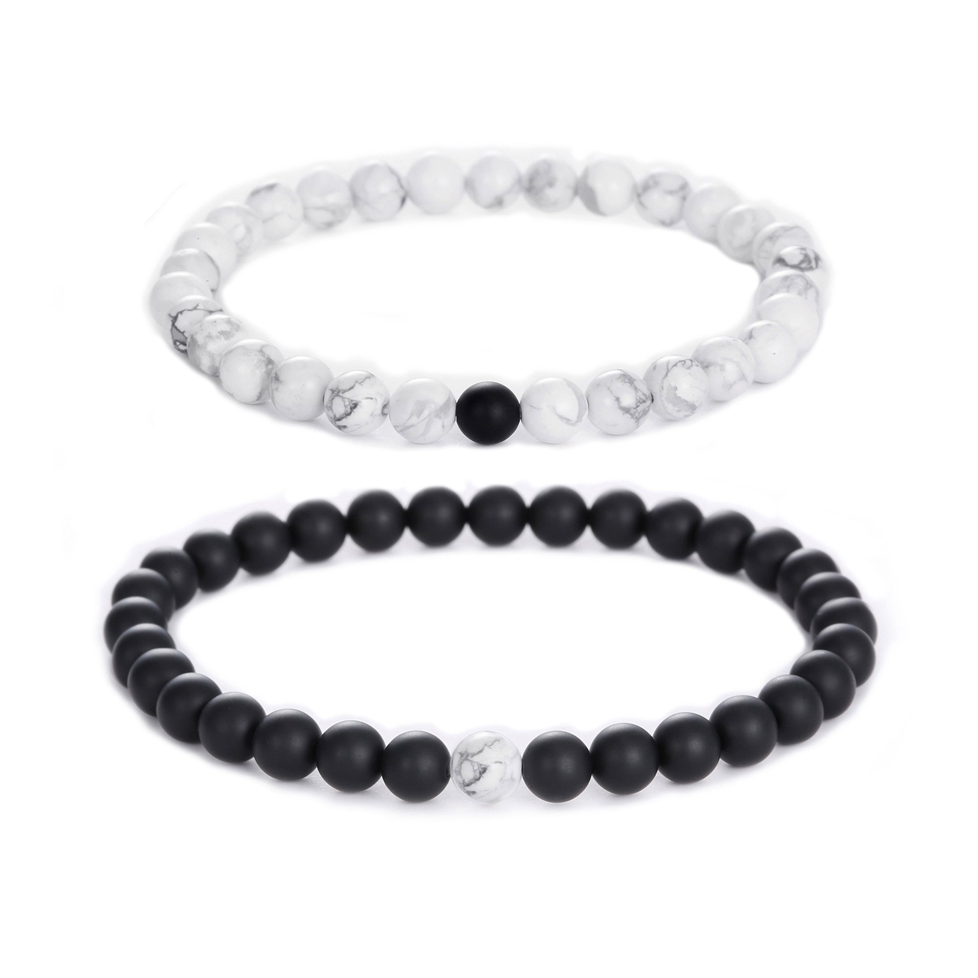 crystal matte accents bracelet simple gem onyx black products with oblong rhodium