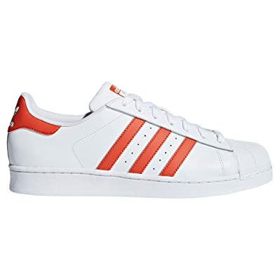the latest b7855 0f9cb adidas Originals Superstar, Baskets Mode Blanches pour Les Femmes.  Sneakers. Low-Top