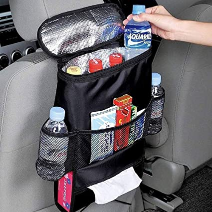 Auto Rücksitz Organizer Mit Isolierte Kühltasche Und Gewebespender Kühler Leichtes Aufbewahrungstasche Mit Mehreren Taschen Für Outdoor Reise Erhaltung Wärme Und Kühlendes Getränk Xmf017009 1 Baby