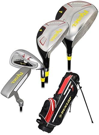 Dunlop Golf - Juego de junior rebelde con bolsa para niños ...