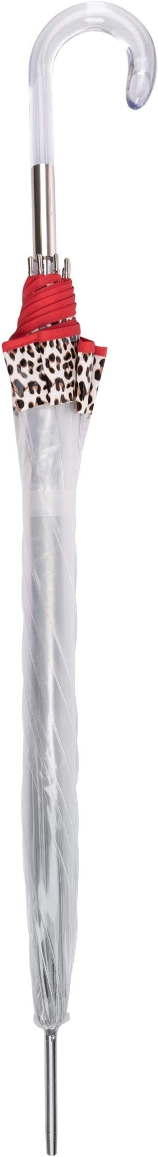 Automatique voilure Stable Parapluie Doppler Long Fiber Lang Automatique Transparent Leo