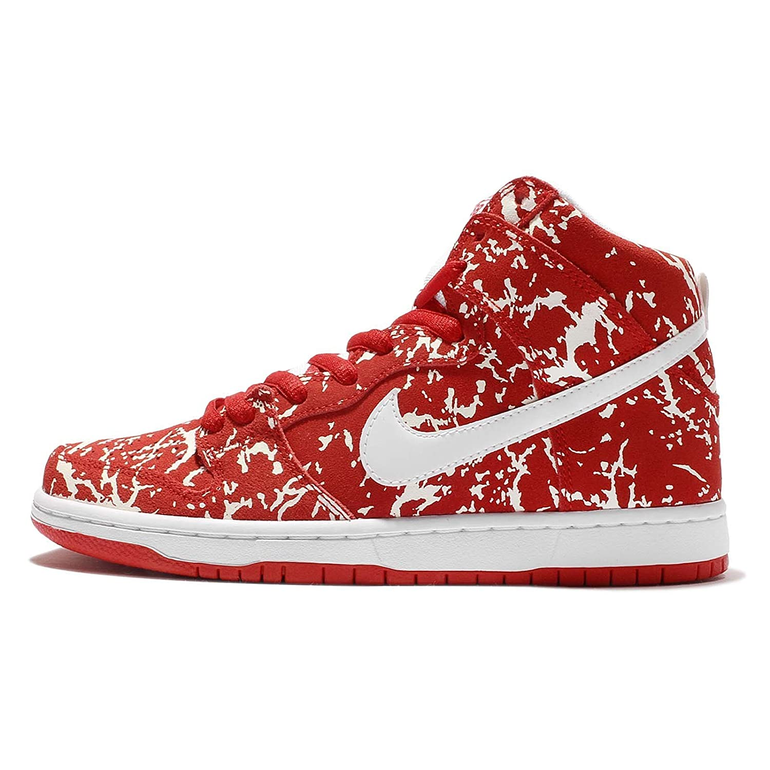 size 40 preview of stable quality Nike Mens Dunk High SB, RAW Meat-Challenge RED/White-Chllng RED, 9 ...