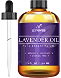 ArtNaturals Lavender Essential Oil for Aromatherapy - 3pc Set - Includes Our Signature Zen Blend 10ml + Signature Chi 10ml - Therapeutic Grade 100% Pure & Natural From Bulgaria (4 oz)