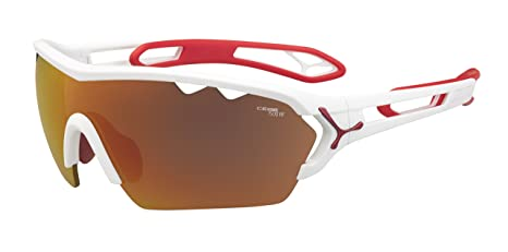fc89e048b Cebe Sunglasses S'Track Mono L CBMONOL2 Matt White Red 1500 Grey Red ...