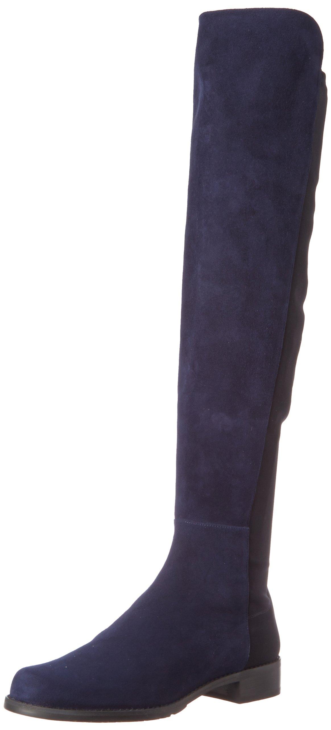 Stuart Weitzman Women's 5050 Over-the-Knee Boot,Nice Blue,7 M US