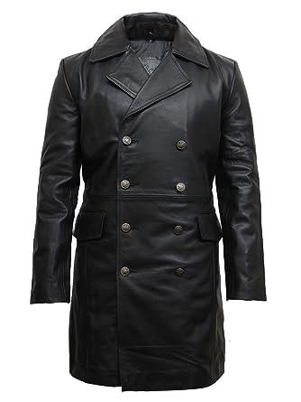Achat manteau cuir officier allemand