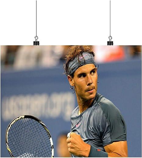 Rafael Nadal tennis star A0 A1 A2 A3 A4 Poster de fotos satinado p11595h: Amazon.es: Amazon.es