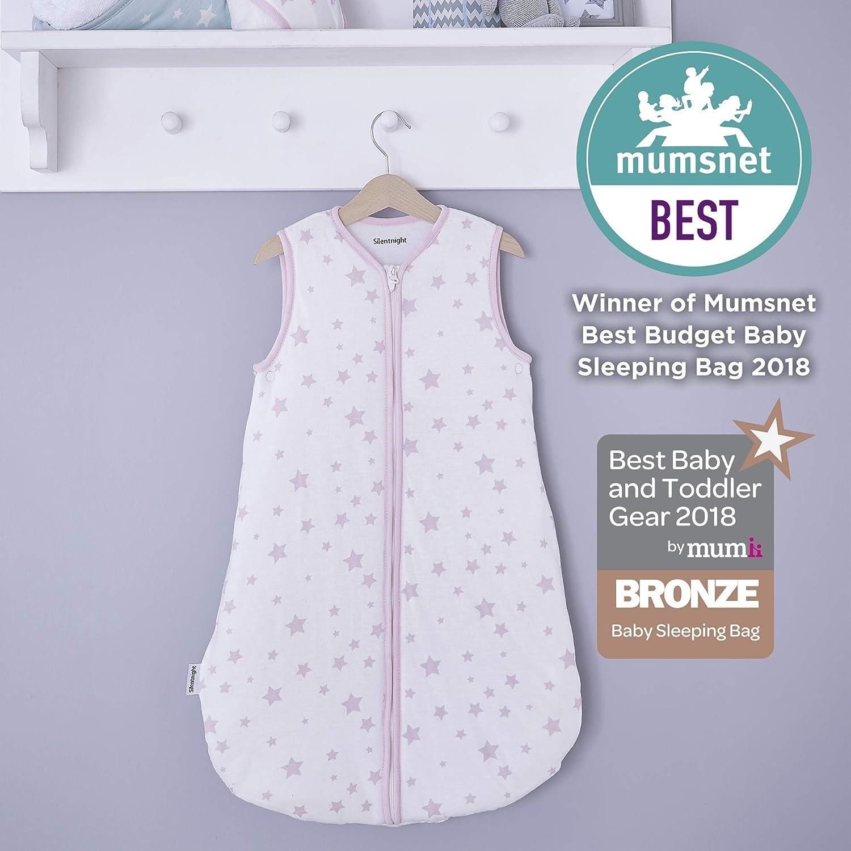 Silentnight Bonnes Nuits Baby Sleep Bag, 0– 6 mois, gris é toiles É toiles grises 0-6 mois 0-6mois gris étoiles Étoiles grises 0-6 mois e-bedding 478618GE