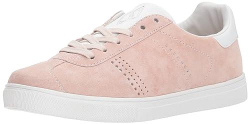 Skecher Street Womens Moda-Suede T Toe Sneaker,light pink,6.5 ...