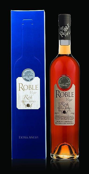 Roble Viejo | Ron Extra Añejo Venezolano - Botella de 70 cl