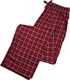 Fruit of the Loom Mens Yarn Dyed Woven Flannel Sleep Lounge Pant