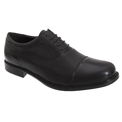 Scimitar Zapatos de Cordones Para Hombre Negro Negro, Color Negro, Talla 48