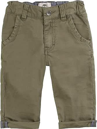 Timberland Pantalón de Sarga de algodón Infantil