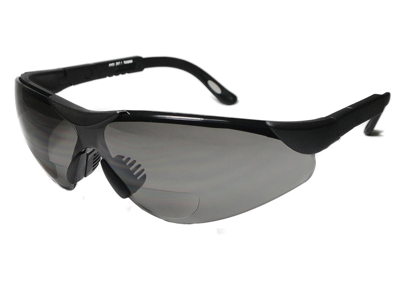 Mens Wrap-Around Bifocal Reading Sunglasses