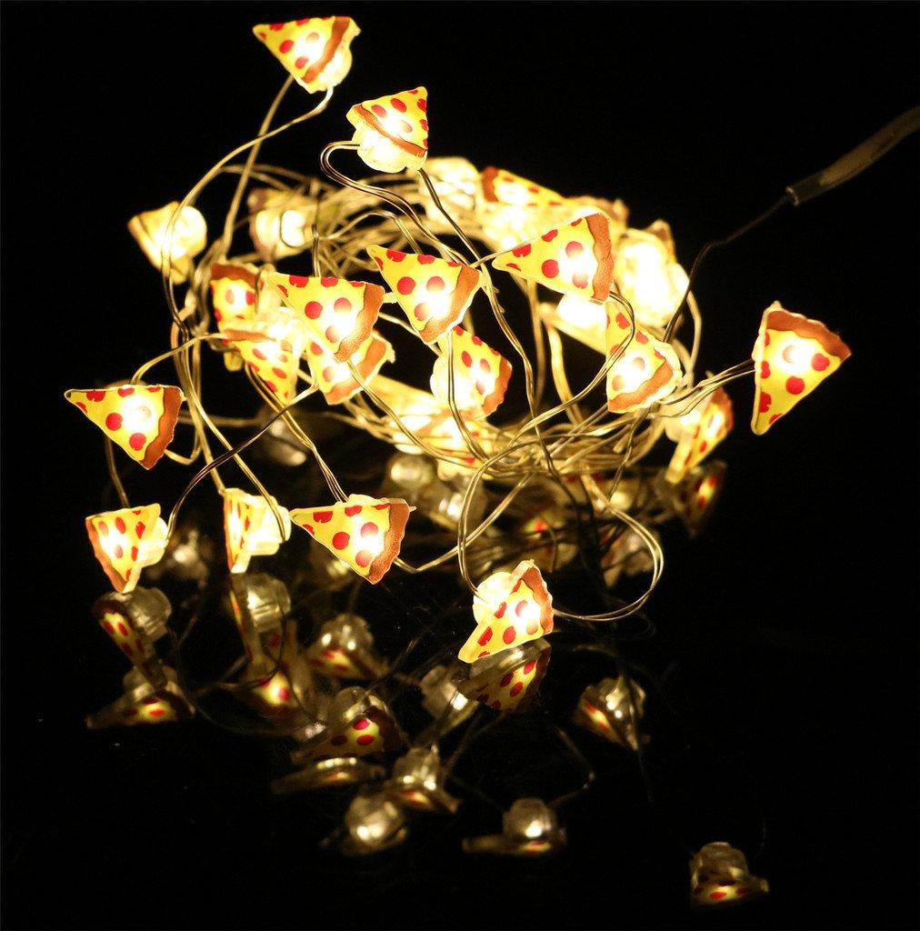 ERGEOB Silberdraht LED Lichterkette 20er LED 2M – Weihnachten ...