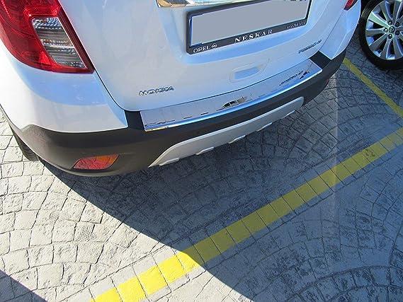 Amazon.com: BUICK ENCORE CHROME REAR BUMPER SILL COVER PROTECTOR TRIM PLATE: Automotive