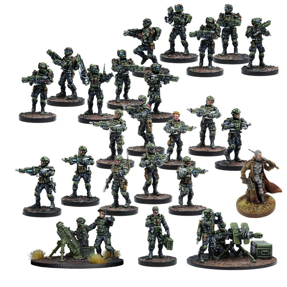 Mantic Games MGDZG101 GCPS Faction Starter Play Set
