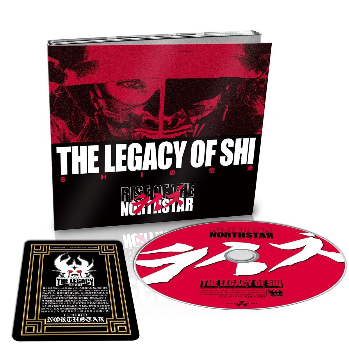 CD : Rise of the Northstar - Legacy Of Shi (Deluxe Edition, United Kingdom - Import)