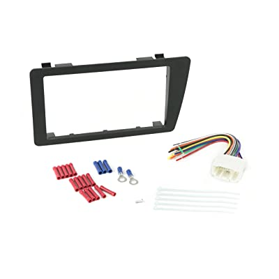 Install Centric ICHA6BN Honda Civic 2001-05 Double Din Complete Installation Kit: Car Electronics [5Bkhe0810201]