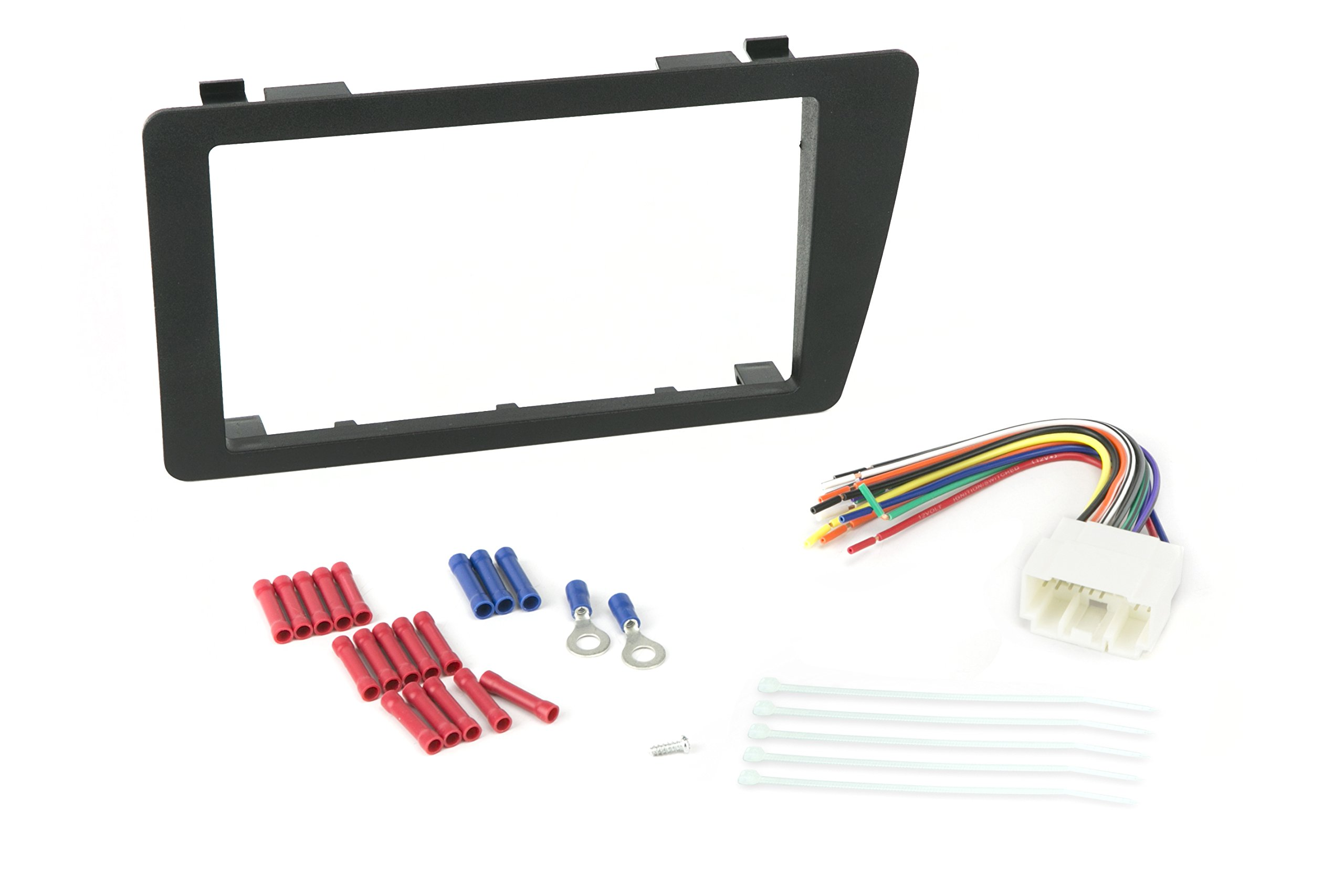 Install Centric ICHA6BN Honda Civic 2001-05 Double Din Complete Installation Kit