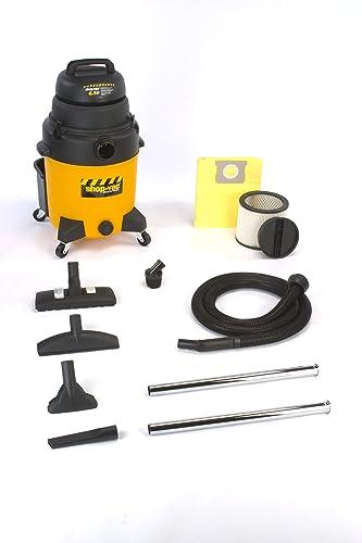 Shop-Vac 9252910 10-Gallon 6.5-Peak HP Industrial Wet Dry Vacuum