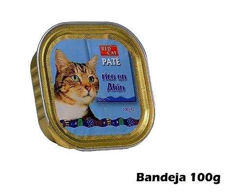 Bandeja paté rico en atún 100g comida para gatos