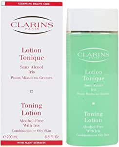 Clarins Toning Lotion-Oily to Combiantion Skin, 6.8 Ounce