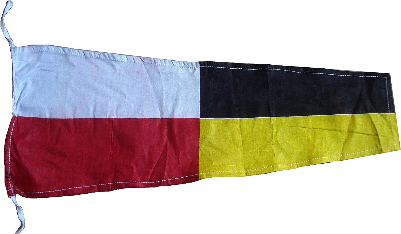 "Naval Signal Flag Nautical // Boat 100/% Cotton – Marine Code 8/"" X 13/"" P"
