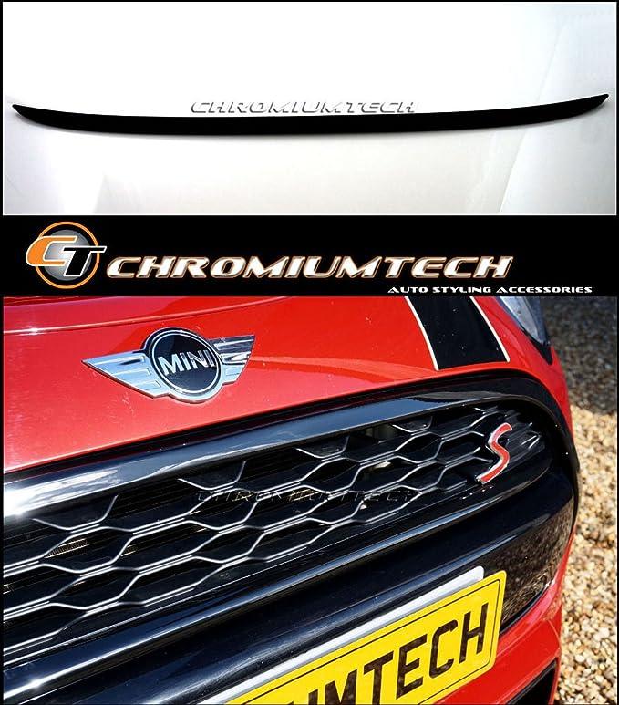 f/ür 2014/Mini Cooper S F55 F56 Carbon-Geh/äuse f/ür Emblem f/ür Kofferraumdeckel//Motorhaube