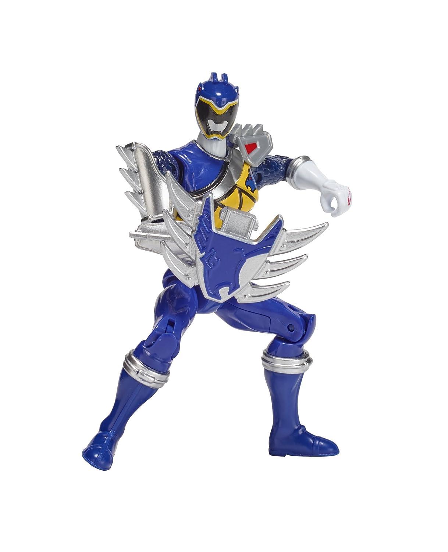 Power Rangers Dino Super Charge 5 Dino Steel Blue Ranger Action Figure