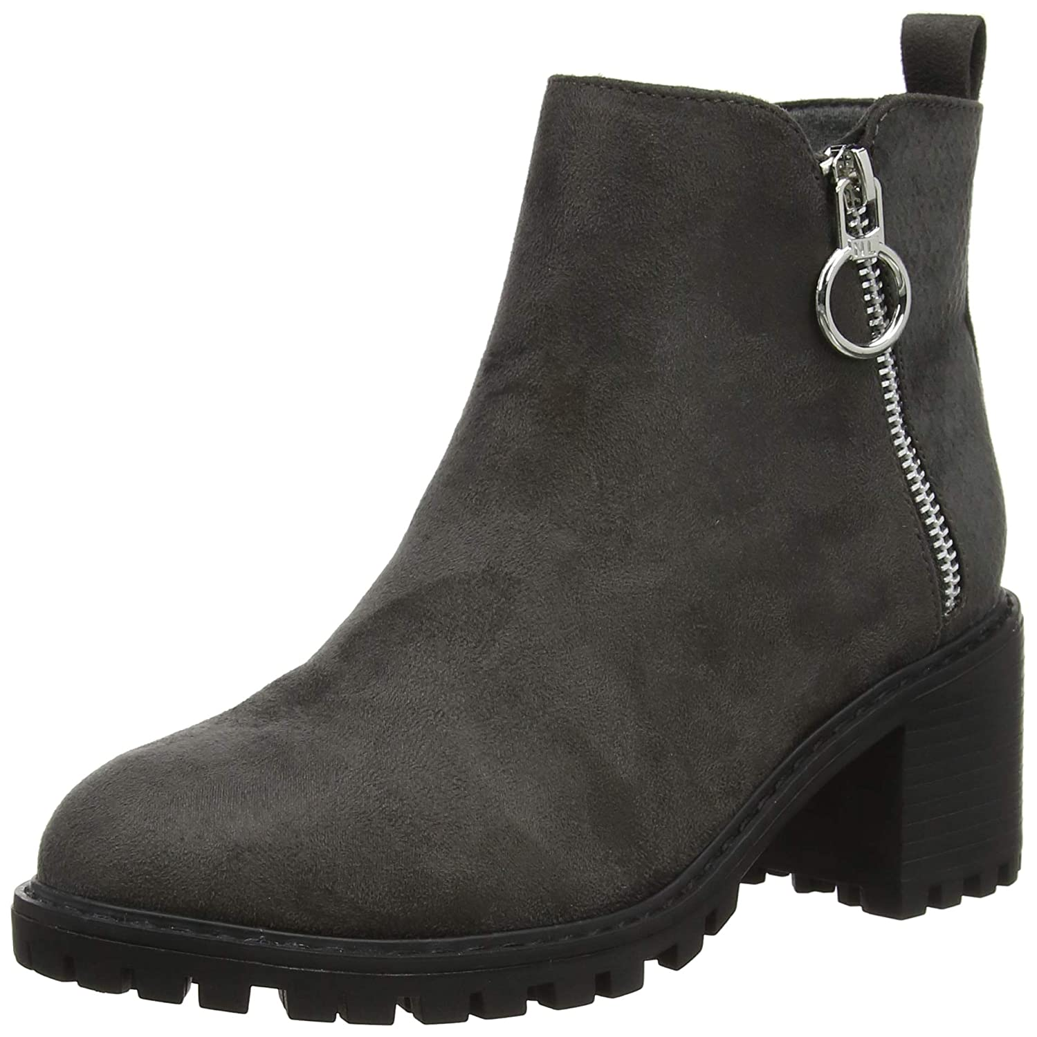 New Look Chile Botines para Mujer, Gris (Mid Grey 4), 40 EU (7 UK): Amazon.es: Zapatos y complementos