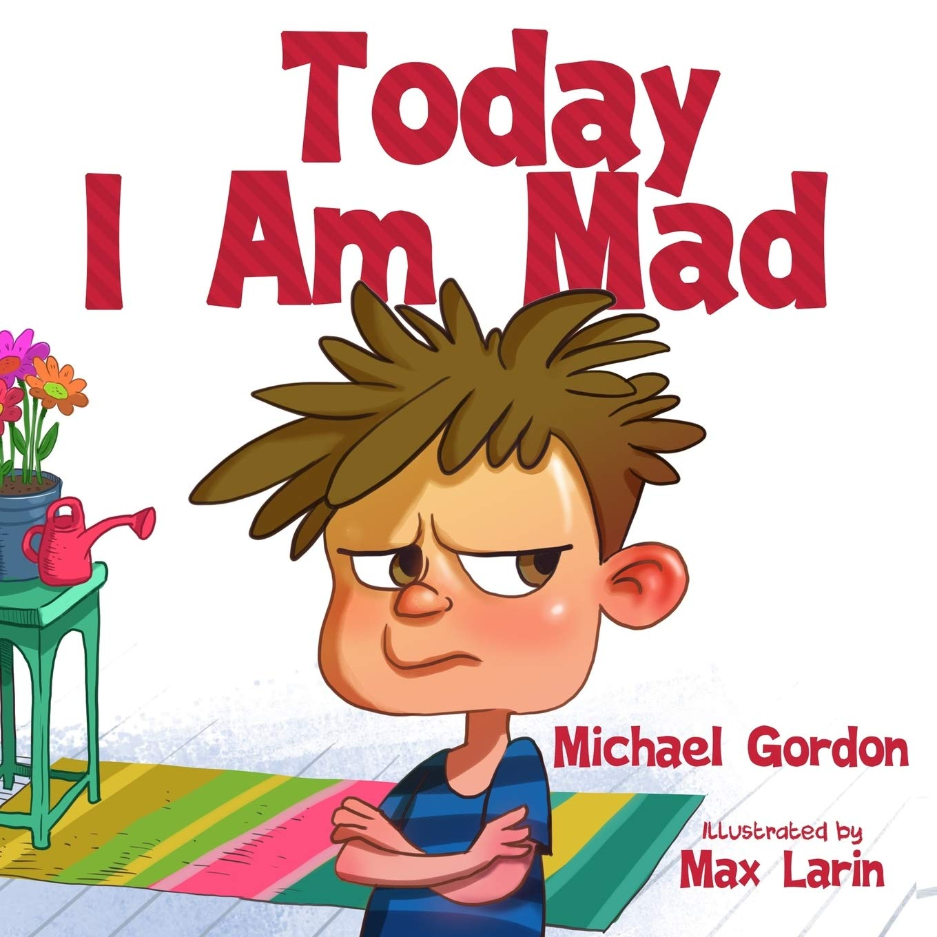 Today Am Mad Management Childrens product image