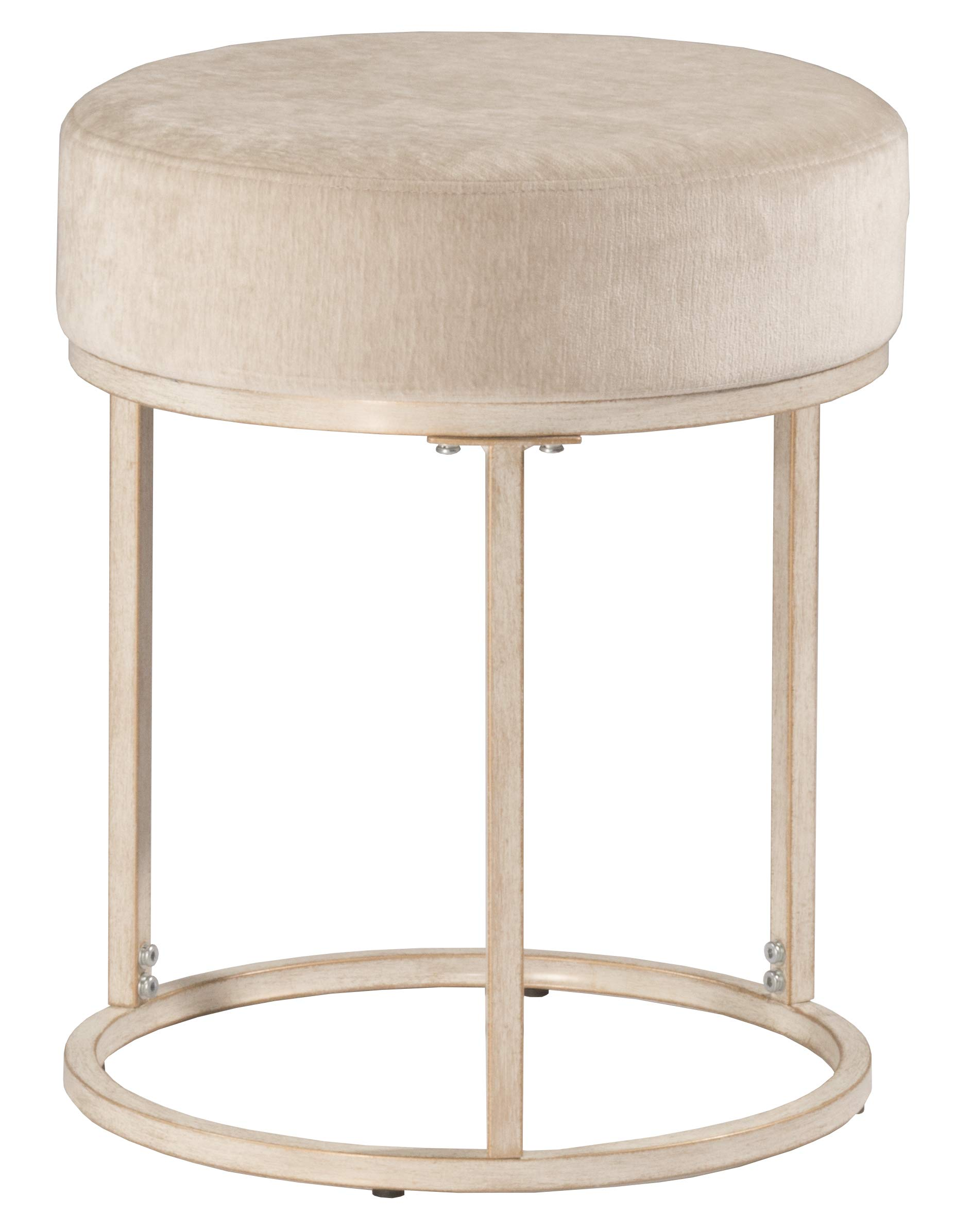 Hillsdale Furniture 51024 Swanson Vanity Stool, White by Hillsdale Furniture