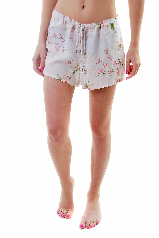 Wildfox Damen Pink Petals Sun Schwimmen Kurze Hose
